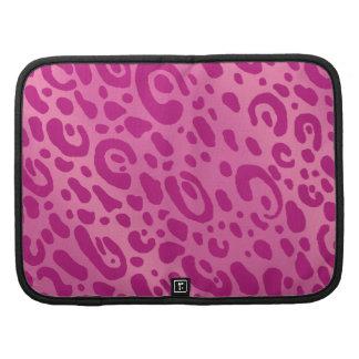 Pink Leopard Print Smartphone Folio Folio Planner