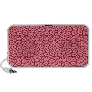 Pink Leopard PC Speakers
