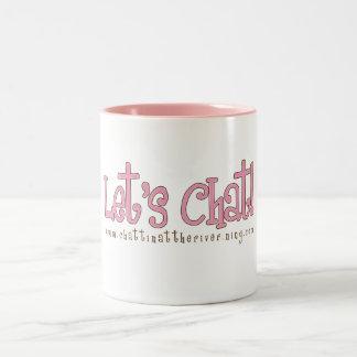 Pink Let's Chat Mug