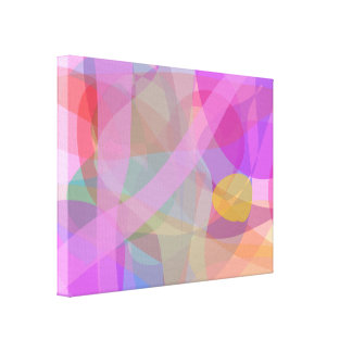Pink Light Stretched Canvas Prints