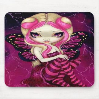 """Pink Lightning"" Mousepad"