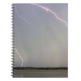 Pink Lightning Strikes Notebooks