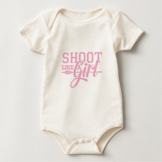 Pink Like a Girl Baby Bodysuit