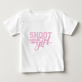 Pink Like a Girl Baby T-Shirt