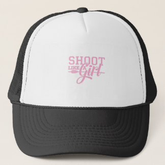 Pink Like a Girl Trucker Hat