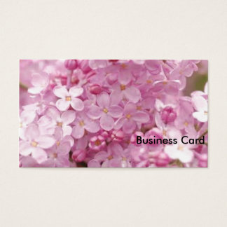 Pink Lilacs Business Card