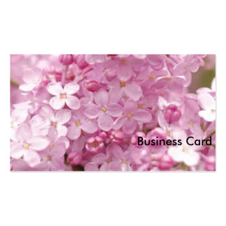 Pink Lilacs Pack Of Standard Business Cards