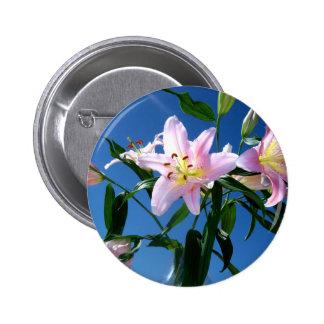 Pink Lilies Pins