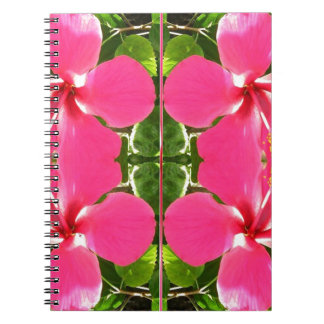Pink Lilly Lily Flowers FUN TEMPLATE Resellers Notebook