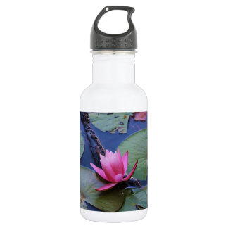 Pink Lilly Pad 532 Ml Water Bottle