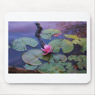 Pink Lilly Pad Mouse Pad