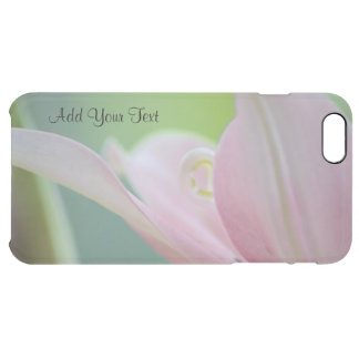 Pink Lily by Shirley Taylor Clear iPhone 6 Plus Case