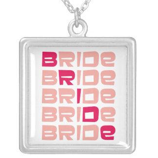 PInk Line Bridal Pendant