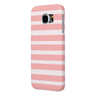 Pink Lines Pattern Samsung Galaxy S6 Cases