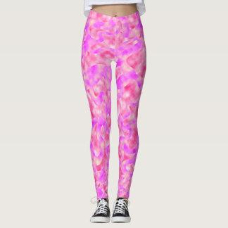 Pink Links Leggings