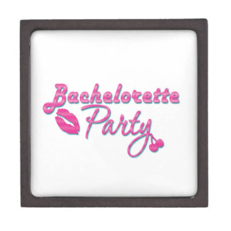 pink lips bachelorette party gifts bridal shower premium jewelry box