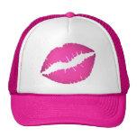 Pink Lips Hat