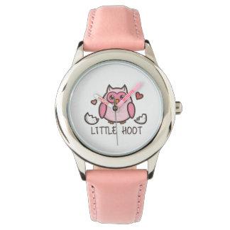 Pink Little Hoot Watch