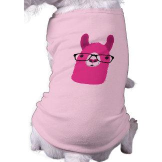 Pink Llama Dog Clothing