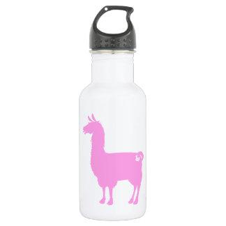 Pink Llama Water Bottle 532 Ml Water Bottle