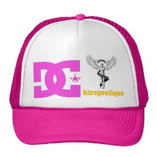 pink logo cd. cap