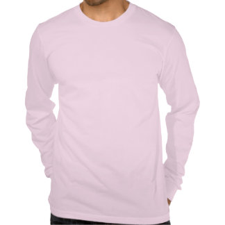 Pink Long Sleeve Crew Neck w/ Logo Tees