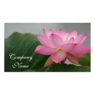Pink Lotus flower Pack Of Standard Business Cards