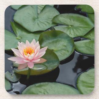 Pink Lotus Flower Coaster