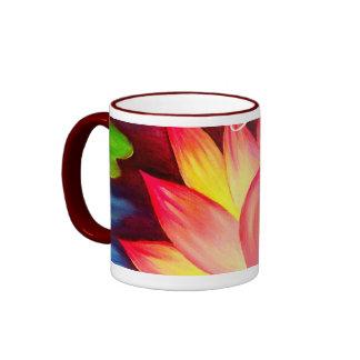 Pink Lotus Water Lily Flower Thank You - Multi Coffee Mugs