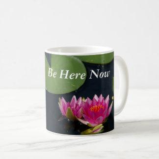 Pink Lotus Waterlilies Coffee Mug