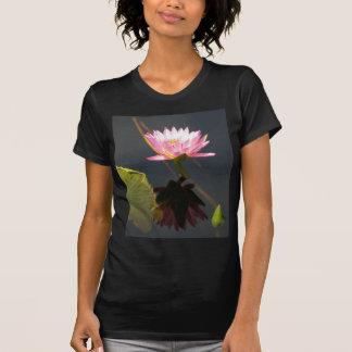 Pink Lotus Waterlilies T-Shirt