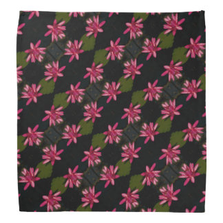 Pink Lotus Waterlily Bandana