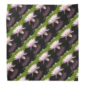 Pink Lotus Waterlily Bandana