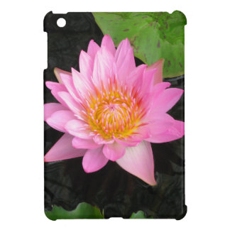 Pink Lotus Waterlily Cover For The iPad Mini