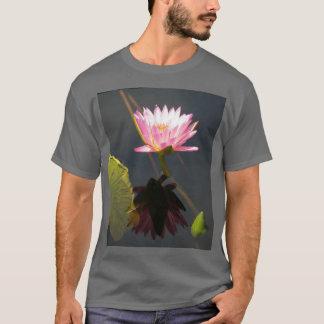 Pink Lotus Waterlily T Shirt