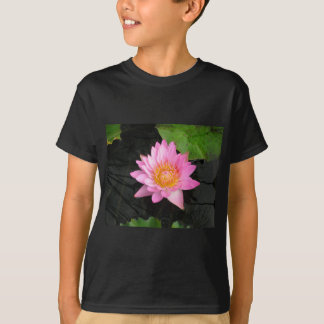 Pink Lotus Waterlily T-Shirt