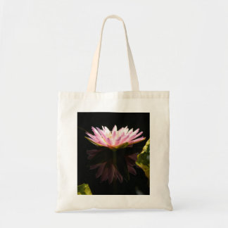 Pink Lotus Waterlily Tote Bag