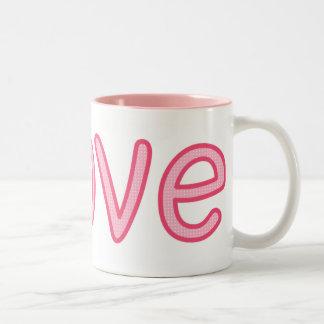Pink Love Coffee Mug