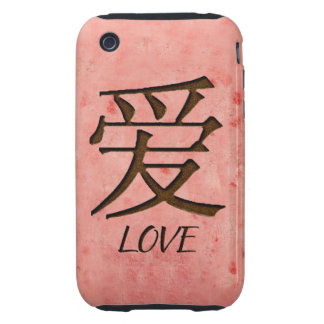 Pink Love iPhone 3G/3GS Case Mate Tough iPhone 3 Tough Cover