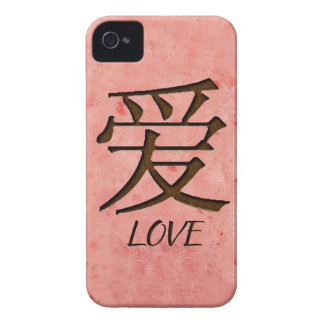 Pink Love iPhone 4/4S Case Mate ID