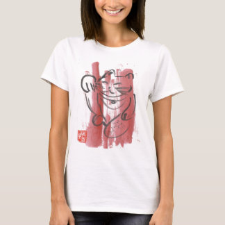 Pink Lucky Cat Baby Tee