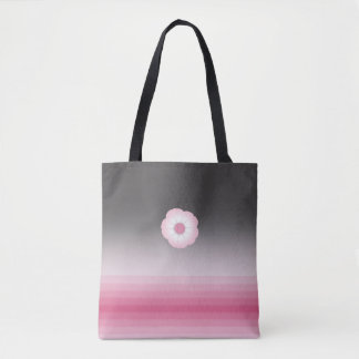 pink luna moonflower tote bag