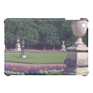 Pink Luxembourg Gardens, Paris flowers Case For The iPad Mini