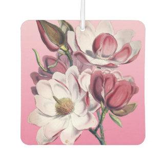 Pink Magnolia Car Air Freshener