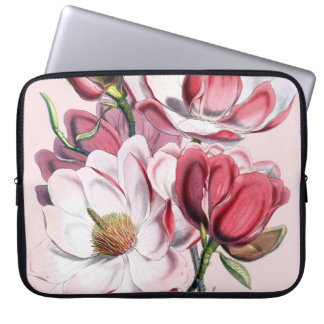 Pink Magnolia Laptop Sleeve
