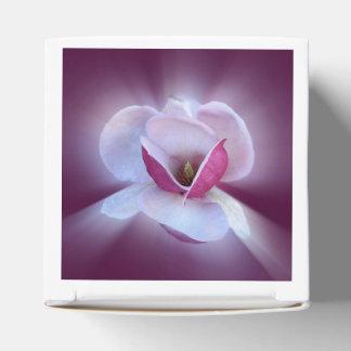 pink magnolia shades favour box