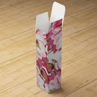 Pink Magnolia Wine Gift Box