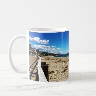Pink Malibu Beach Paradise Mug