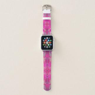 pink mandala apple watch band