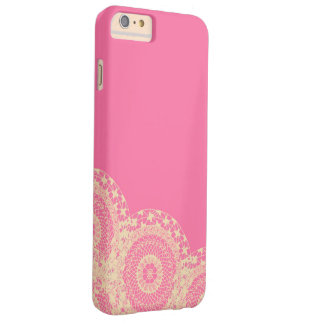 Pink Mandala Barely There iPhone 6 Plus Case